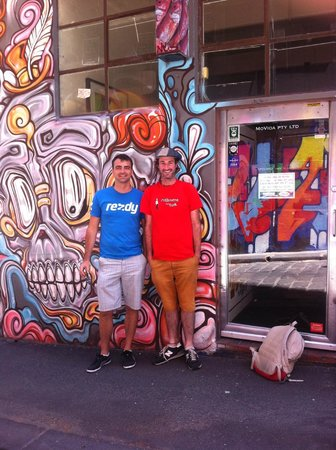 Melbourne By Foot: Rezdy CEO with Dave