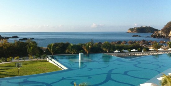 Secrets Huatulco Resort & Spa: view from room #6306