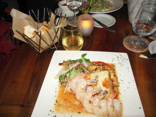 Mi's Italian Bistro : One of the Main Dishes-always well-presented