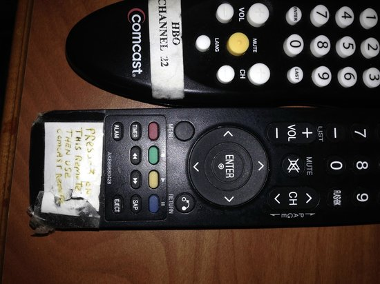 TownePlace Suites Wilmington Newark/Christiana: Can I just use one remote?