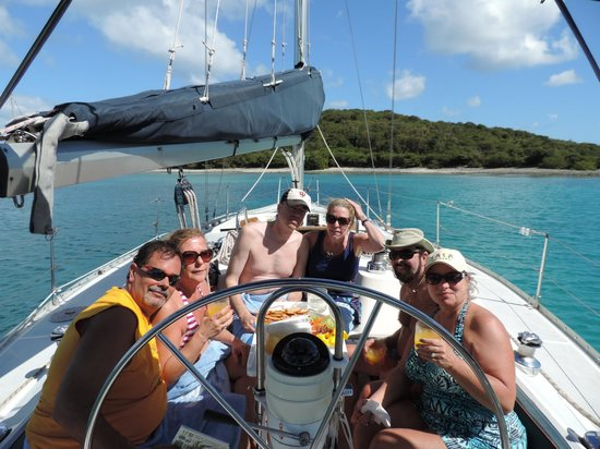 Rumbaba Charters: Our group of six!