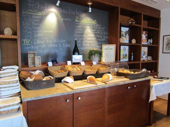 Biohotel Daberer: Frühstück