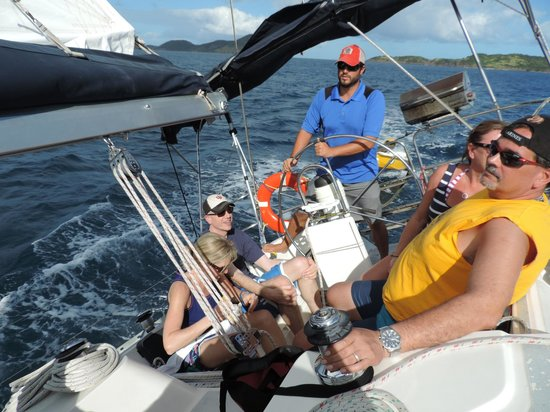 Rumbaba Charters: Fast and exciting sailing