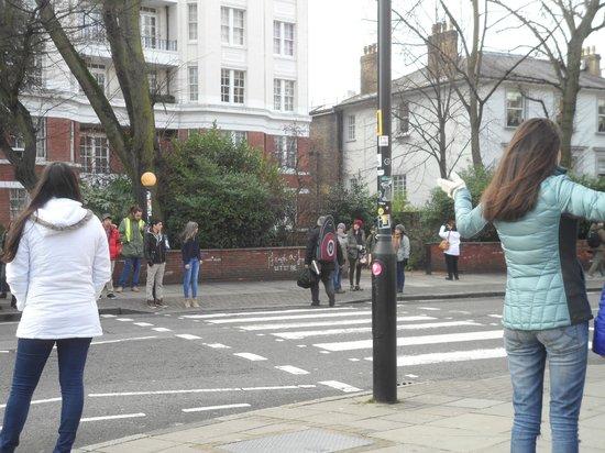 Abbey Road: le fameux passage