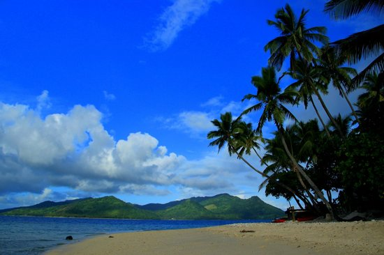 Royal Davui Island Resort: The beach