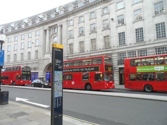 Regent Street: by day