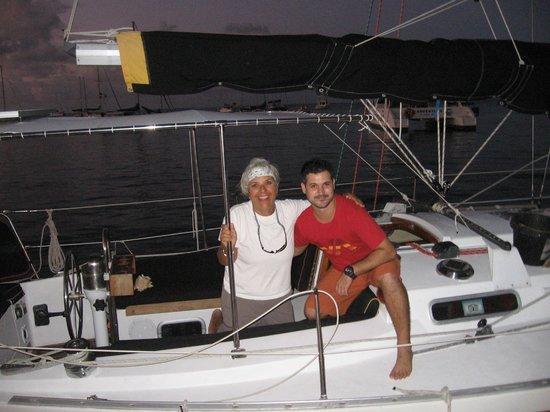 Bilinda Charters : Captain Dee and John