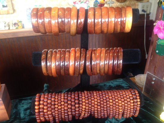 Koa Wood Jewelry : Bangles and Beads!