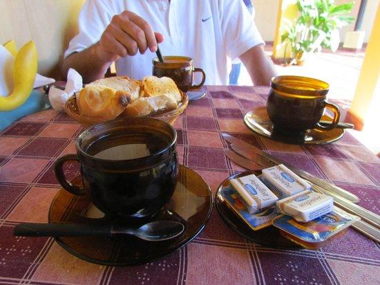 Hotel San Martin: Desayuno