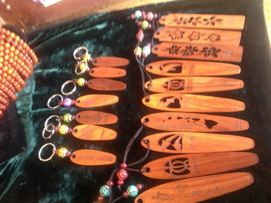 Koa Wood Jewelry: Keychains and Bookmarks too!