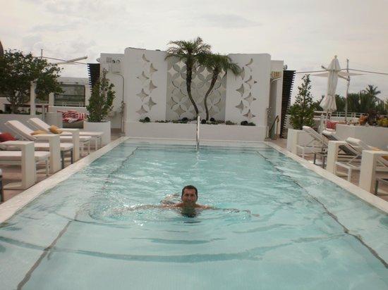 Dream South Beach: en la piscina