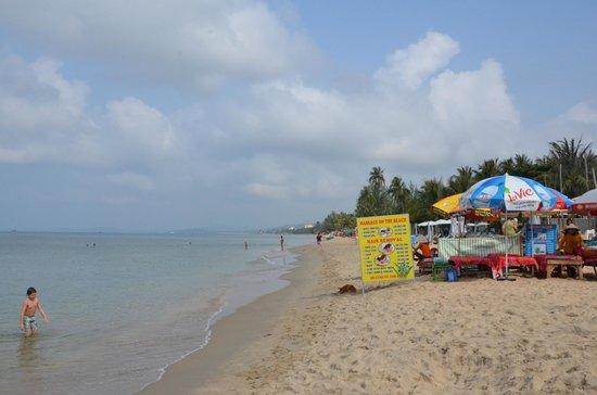 Lien Hiep Thanh Resort : massaggi sulla  spiaggia del resort