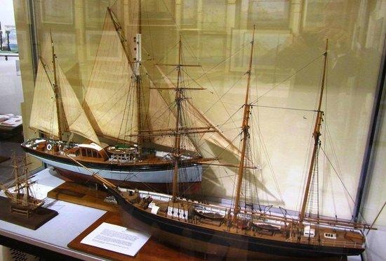 SALCOMBE MARITIME MUSEUM: Ship Models