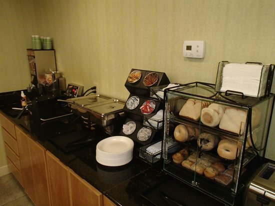 Best Western Plus Glen Allen Inn: Breakfast selection