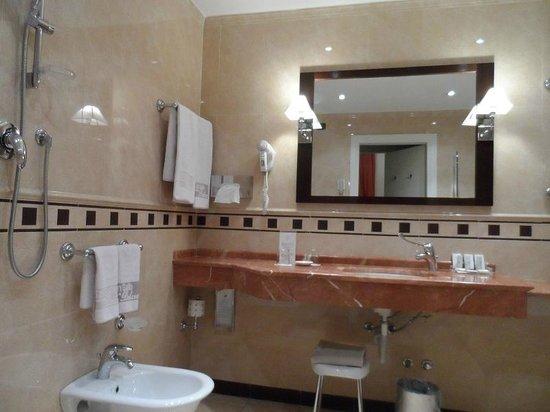 Hotel San Gallo Palace: Bagno molto bello