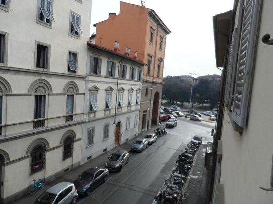 Hotel San Gallo Palace : dalla finestra