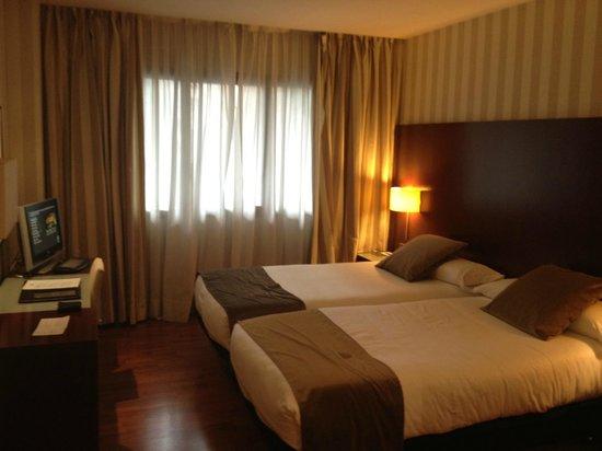 Hotel Zenit Barcelona: Habitación doble