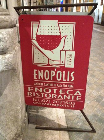 Restaurant Enopolis : At the Entrance