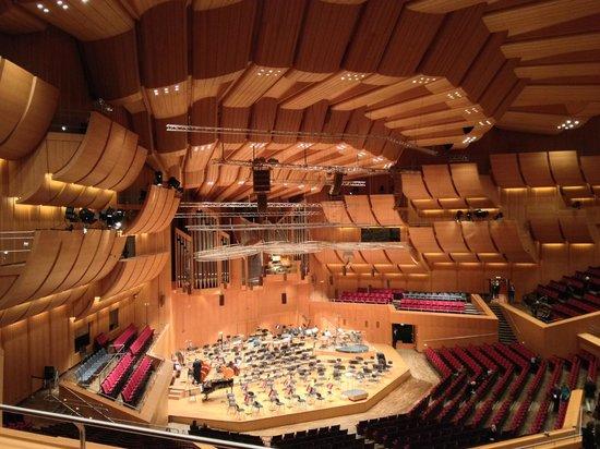 Cultural Center (Kulturzentrum Gasteig): Empty stage area.