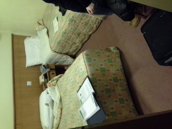 New England Hotel : camera da letto