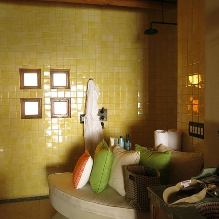 The Resort at Pedregal: bathroom with open shower