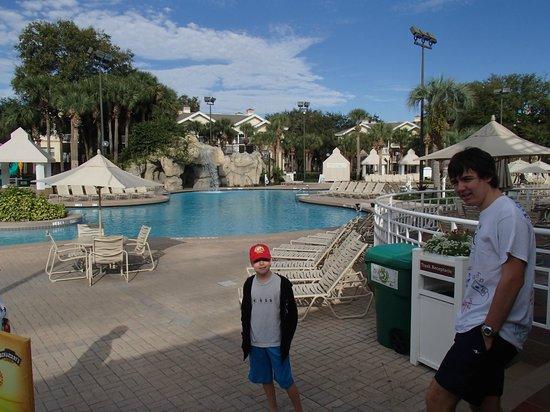 Sheraton Vistana Resort - Lake Buena Vista : Nice big pool with cascade