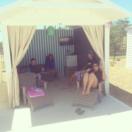 Prospect, Australien: VIP Cabana