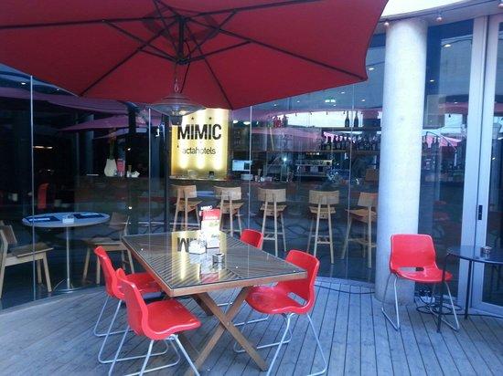Hotel Acta Mimic : Ristorante