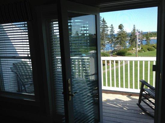 Newagen Seaside Inn: Junior Suite - Little Inn - view from room