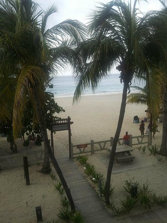 Playa Flamenco: our view