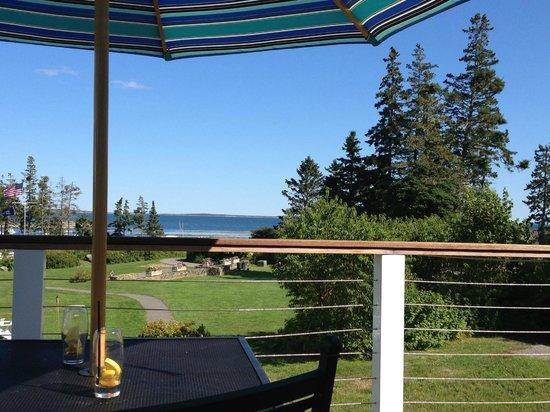 Newagen Seaside Inn: View from new deck