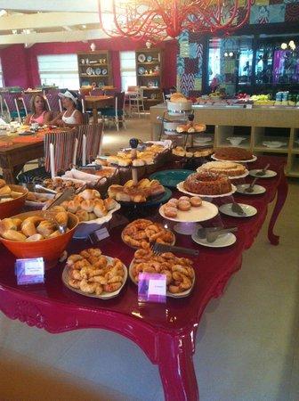 Costa Verde Tabatinga Hotel: Café da manhã