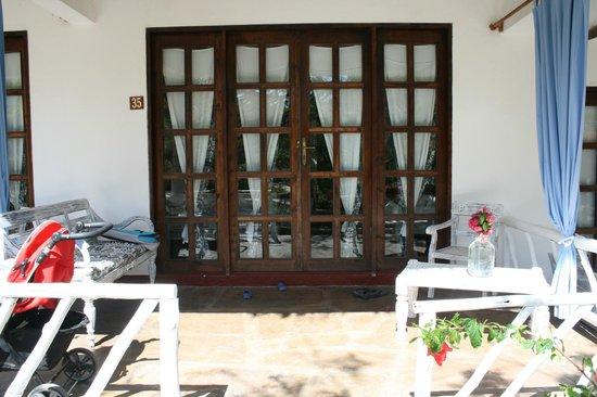 Eden Village Watamu Beach: veranda
