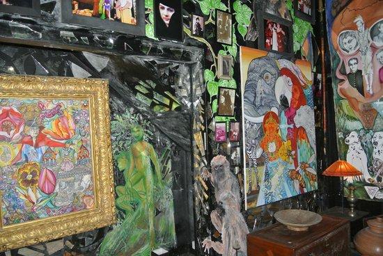 Helga's Folly: more art