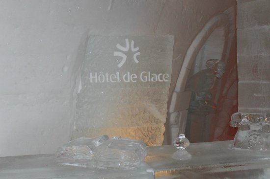 Hotel de Glace : Welcome