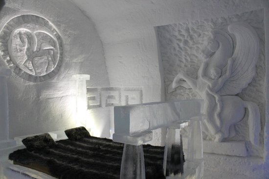 Hotel de Glace : Beautiful themed rooms