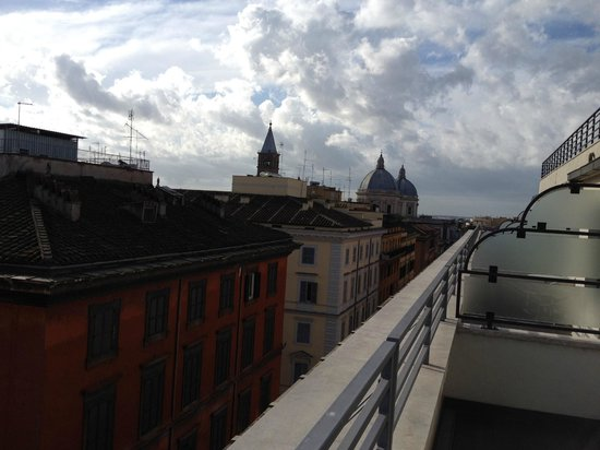 UNA Hotel Roma: View from the Valcony