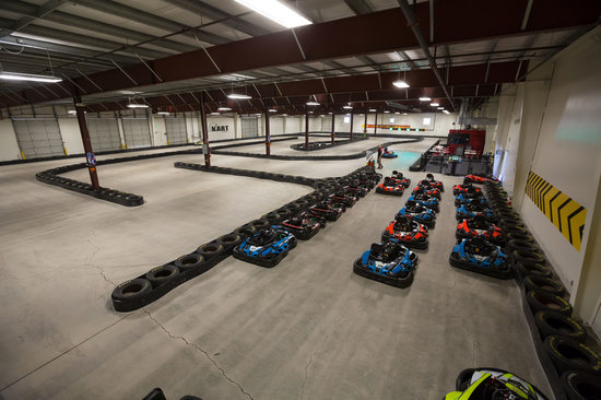 Go Kart Hero: The indoor kart track