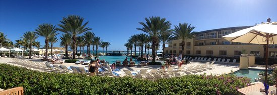 The Westin Dawn Beach Resort & Spa, St. Maarten : beautiful pool and beach
