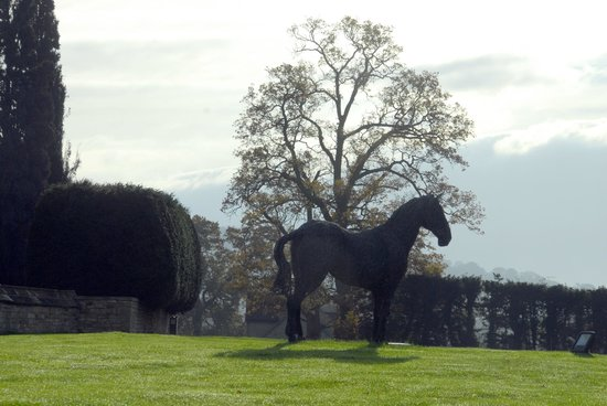 Ellenborough Park: horse sculpture