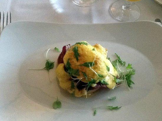 Ellenborough Park: Eggs Royale with Salmon