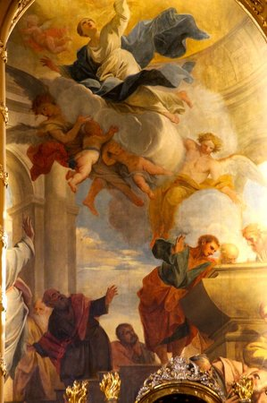 Church of the Jesuits (Universitatskirche): More Ceiling paintings