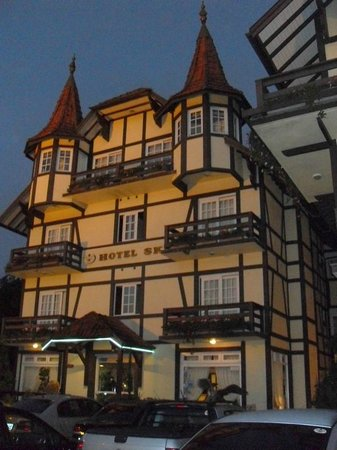 Hotel Sky: estilo germânico enxaimel