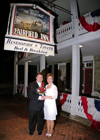 The Historic Fairfield Inn 1757 : Hardman Wedding