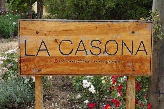 Hotel La Casona de Vina Matetic : la casona