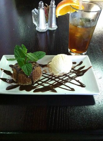 Gourmet and Company : My Dark Chocolate Lava Cake.  Sinfully delicious!!