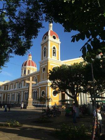 Hotel Plaza Colon: View of the Granada Catedral