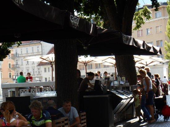 Hotel Lev Ljubljana: Dining at Cacao