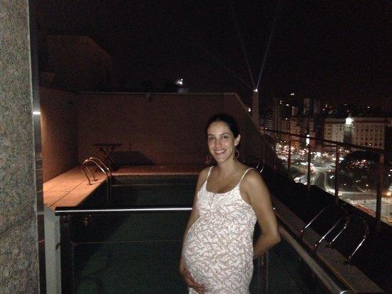 NH Collection Buenos Aires Jousten: Desde la terraza con pileta