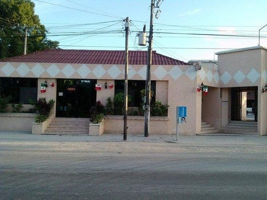 Restaurant y Hotel Calakmul: Restaurant